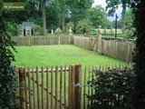 Chestnut Fence post - 120 cm x Ø 6-8 cm_