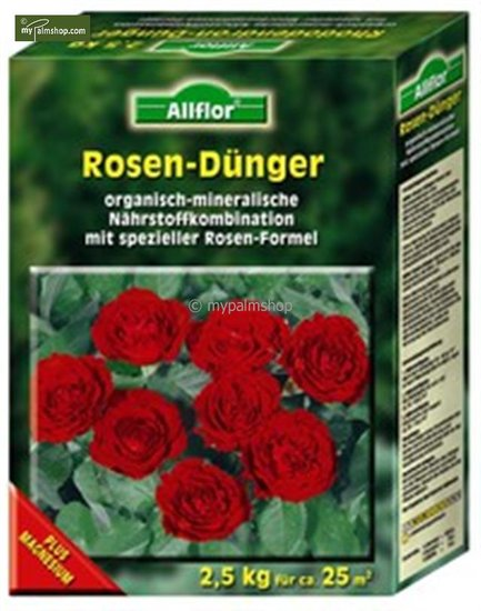 Rose fertilizer 2,5 kg
