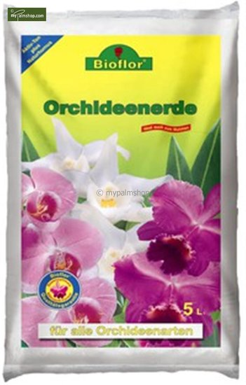 Bioflor Orchid potting compost 5 ltr.