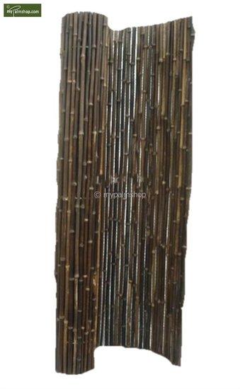 Bamboo mat black 200cm x 180cm [pallet]
