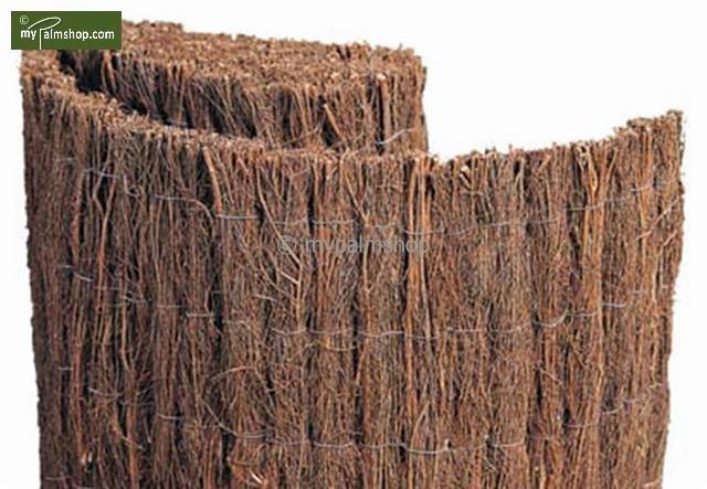 Brushwood fence - Elegance 200cm x 300cm [pallet]