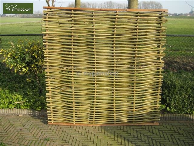 Willow fence panel Elegance 120cm x 180cm [pallet]