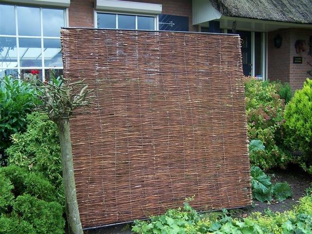 Willow fence panel Stingray 120cm x 180cm [pallet]