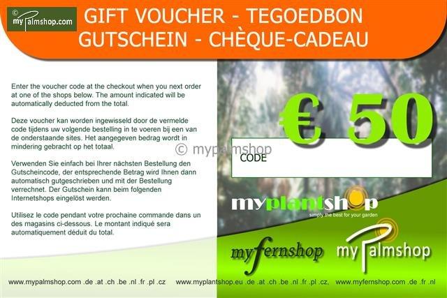 Gift voucher €50,-
