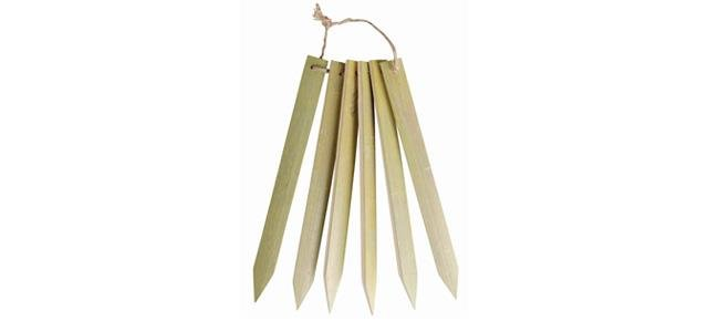 Eco Natural Bamboo Lables
