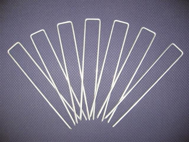 Anti-weed sheet fixing pins 10 pieces