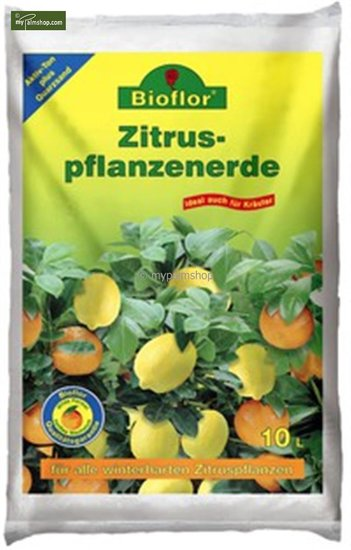 Bioflor Premium Potting compost for Citrus - 10 ltr