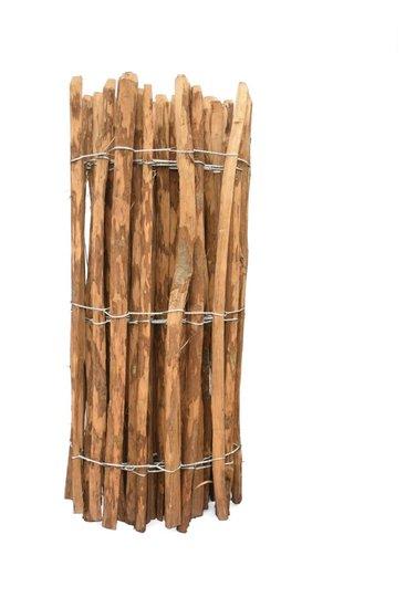 Chestnut fence rails 8cm 120cm x 460cm