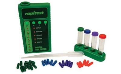 Rapitest digital 25-test soil test kit