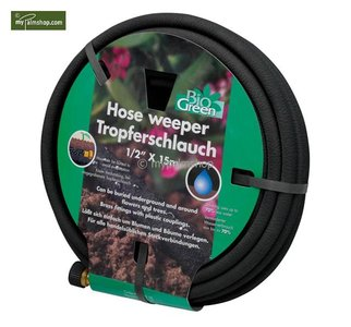 Hose weeper 15 Mtr. with Brass Connector