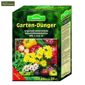 Allflor Garden fertilizer 2,5 kg