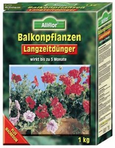 Balcony plants fertilizer with long lasting effect