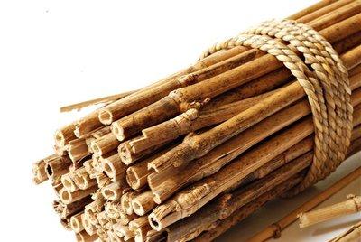 Bamboo pole 120cm x Ø 12-14 mm