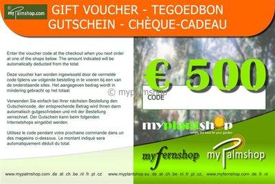 Gift Voucher €500,-