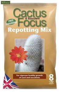Cactus Focus Repotting Mix 8 ltr.