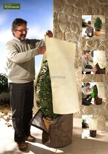 Winter protection for plants square form 100 x 80 cm